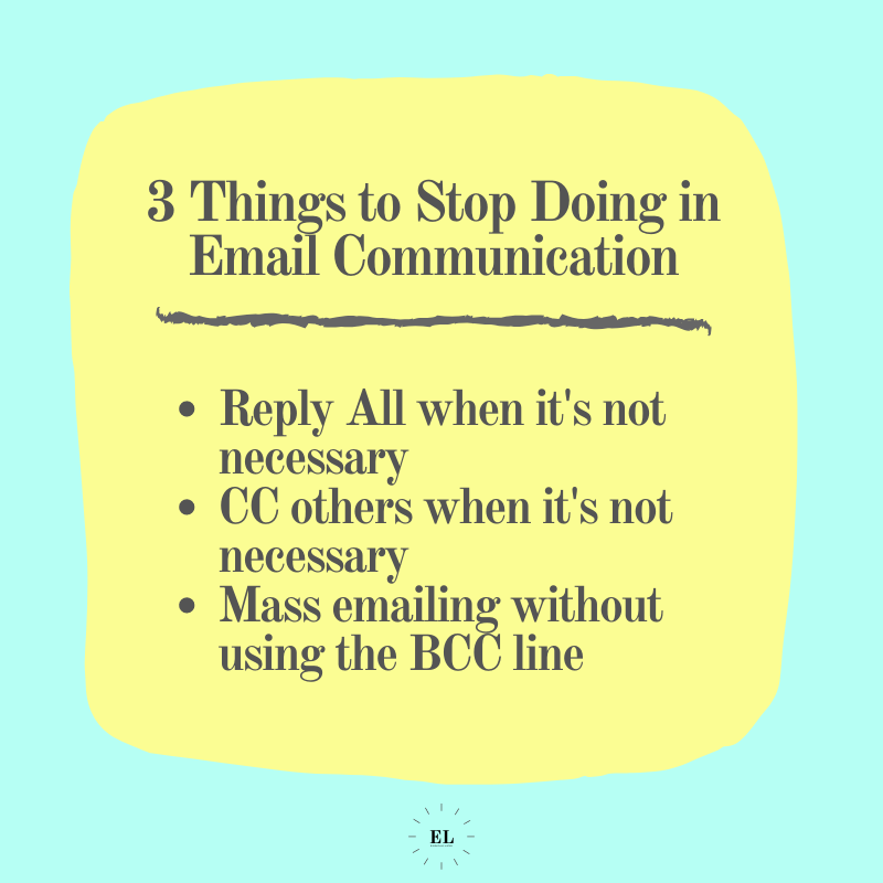 3 Things to Stop Doing in Email Communication: Essentials Listed
