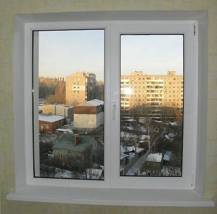 Замер вертикальных жалюзи в проем окна