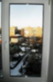 """Рулонные жалюзи на пластиковое окно. Замер, открытая система """"Мини"""""""