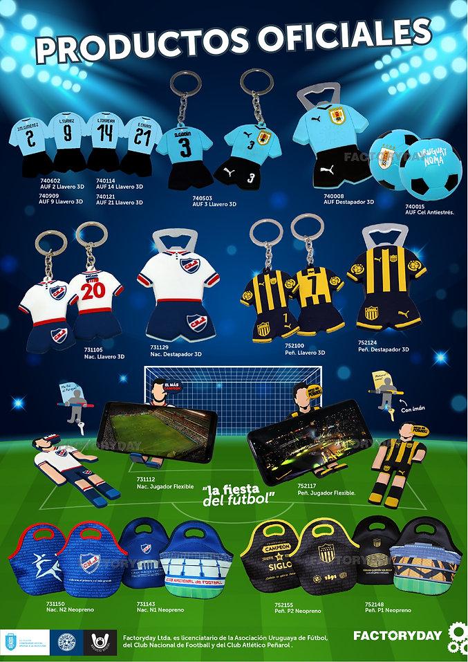 Productos oficiales fútbol Factoryday
