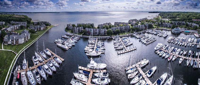 Chesapeake Harbor Panorama