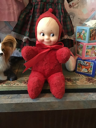 Red Plush Cupie