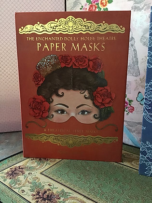 """The Enchanted Doll's House Theater PAPER MASKS """""""