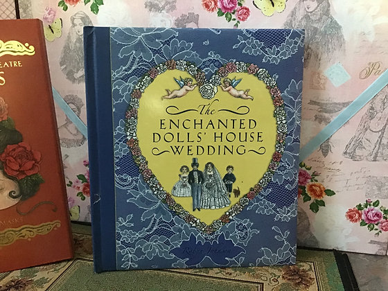 """Delightful book """"The Enchanted Doll's House Wedding"""""""