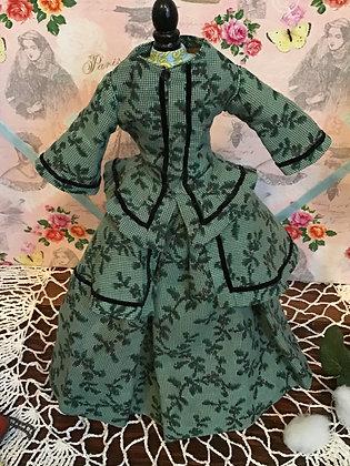 Floral Print Fashion Ensemble