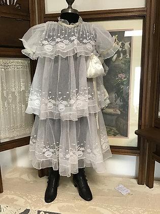 Fabulous Sheer White Dress