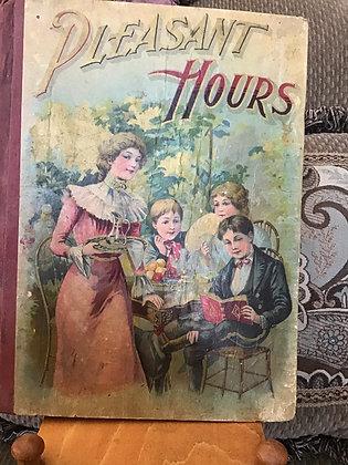 Antique Pleasant Hours book