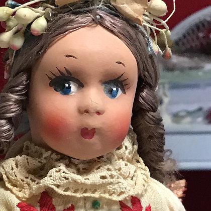 Hungarian souvenir doll