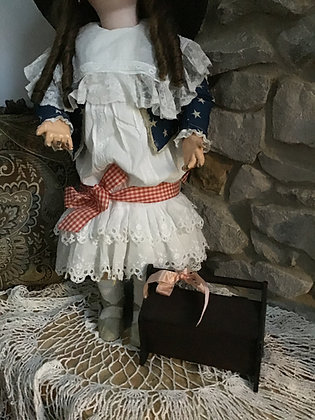 Doll sized Sewing Box