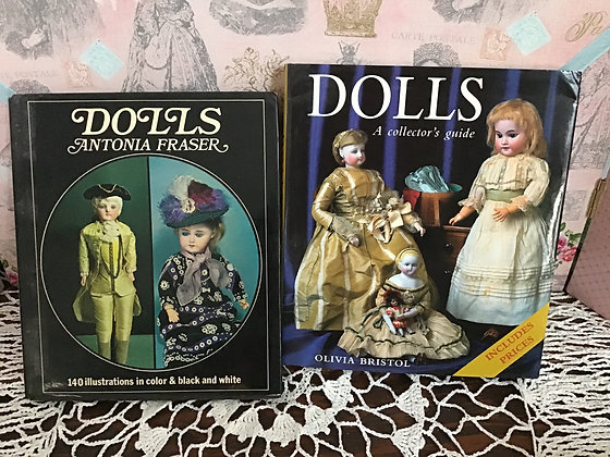 Two vintage doll reference books