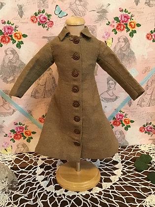 Charming Brown Wool Coat/Dress