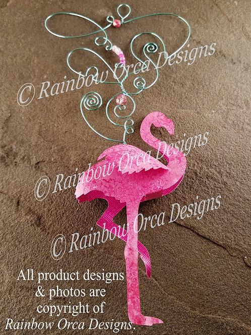 Flamingo Ornament Sculpture
