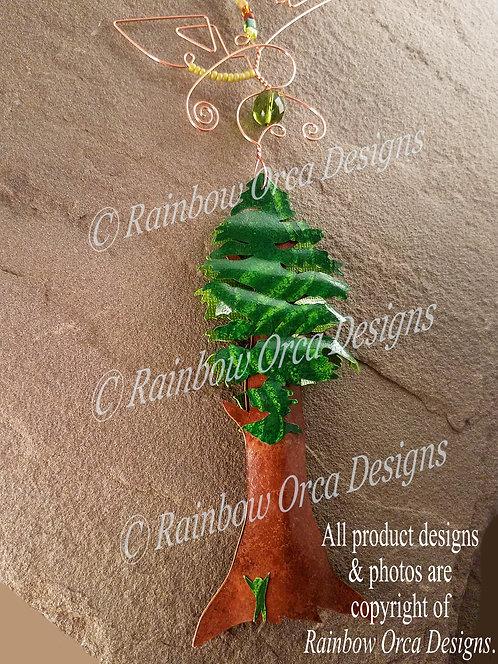 Sequoia/Redwood Tree Ornament Sculpture