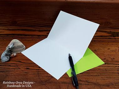 Blank Card Inside with green envelope.jp