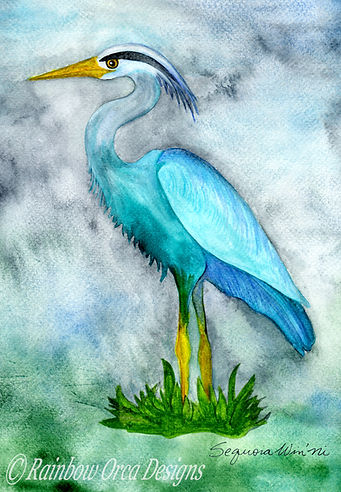 reduced Heron's Misty Realm 4.5x6.5 rati
