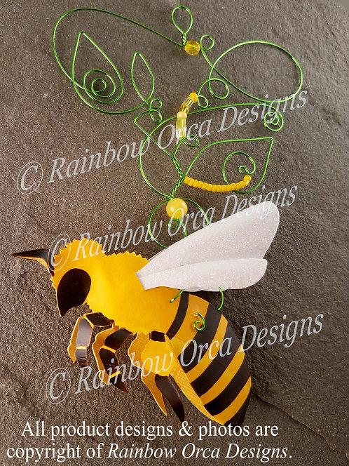 Honey Bee Ornament Sculpture