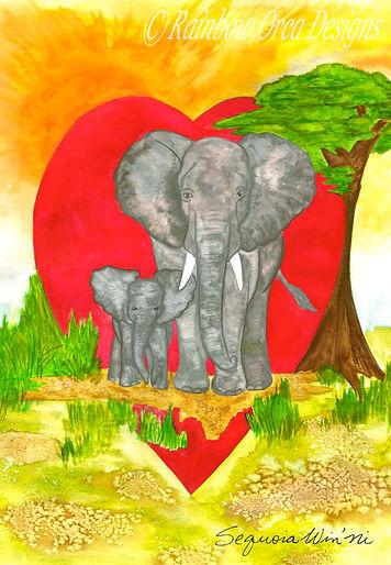 reduced Heartfelt Elephant Love ed 2020