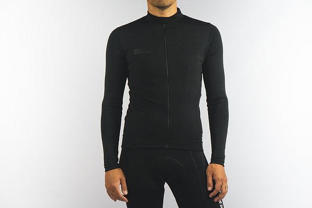 Jersey Total Black Keep Klimbing