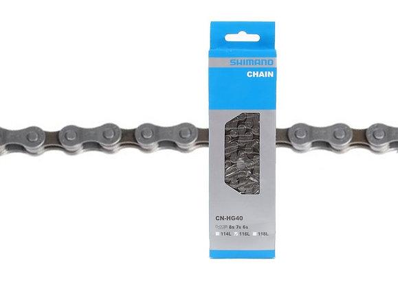 Cadena Shimano CN-HG40 6/7/8v