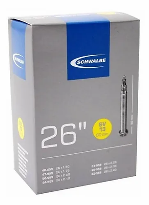 Camara Schwalbe 26x1.5/2.4 SV13 60mm