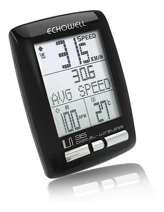 Ciclocomputadora Echowell Ui35 Wireless