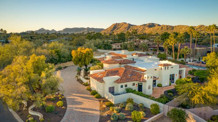 Drone Photography Paradise Valley, AZ