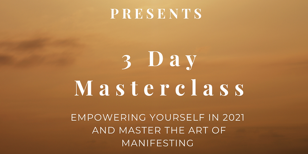 Masterclass Empower Yourself in 2021