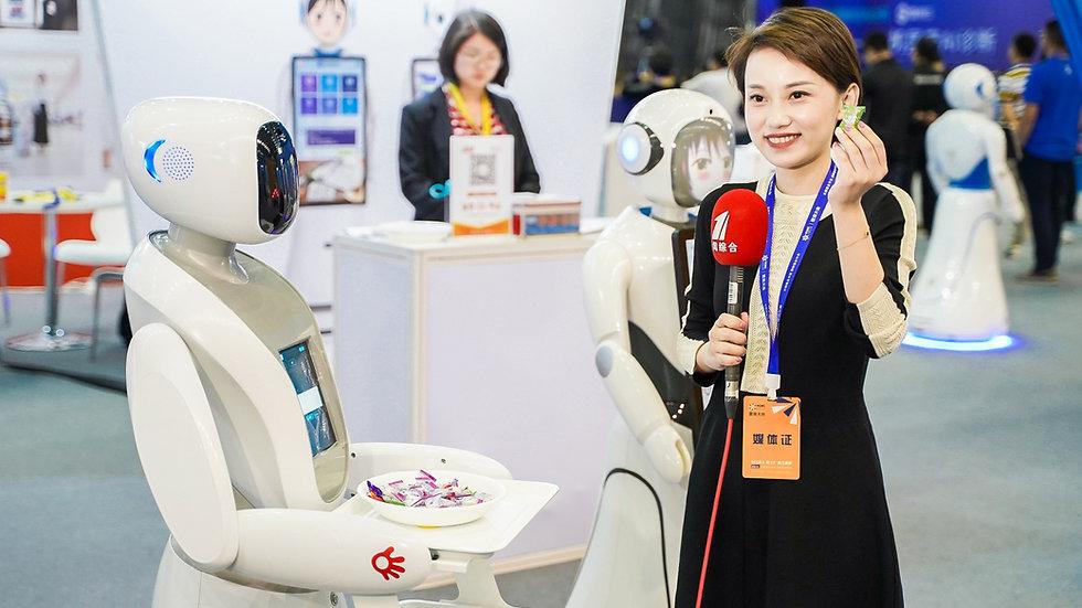 Amy Robot Waiter for Restaurant Food Service