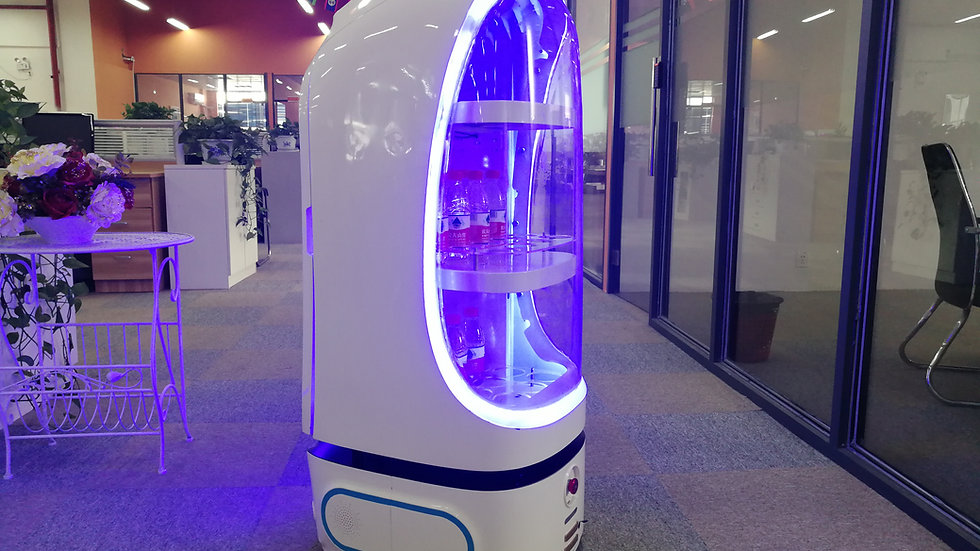 Vending Robot Csjbot for Delivery Service