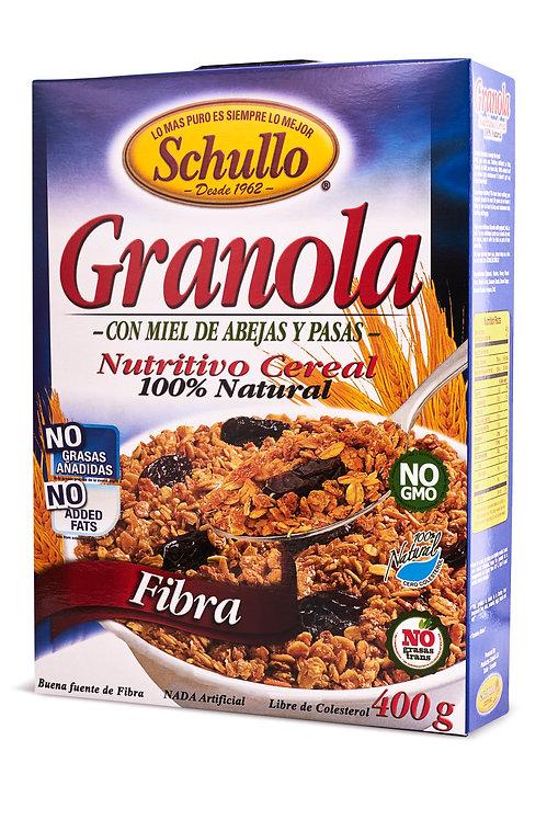 Schullo High Fiber Granola