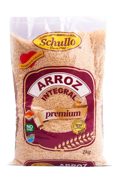 Schullo Long Grain Brown Rice