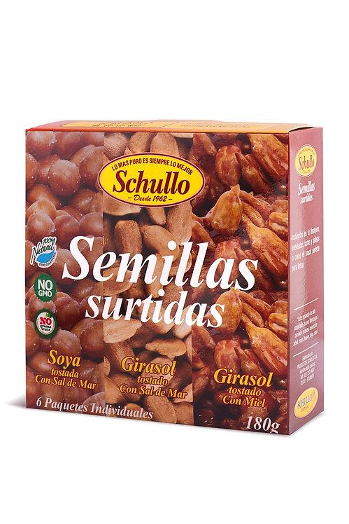 Schullo Roasted Seeds Assorted Pack