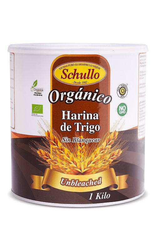 Schullo Unbleached Organic White Flour