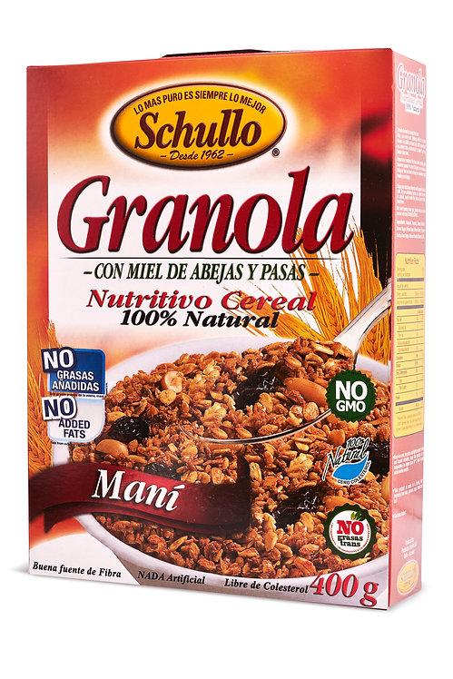 Schullo Peanut Granola