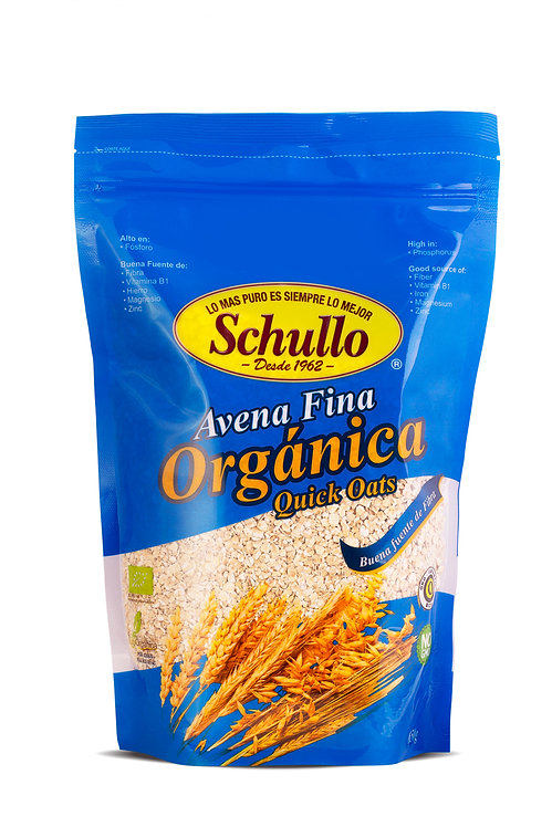 Schullo Organic Quick Cooking Oats