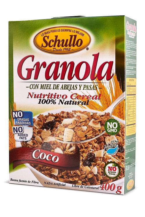Schullo Coconut Granola