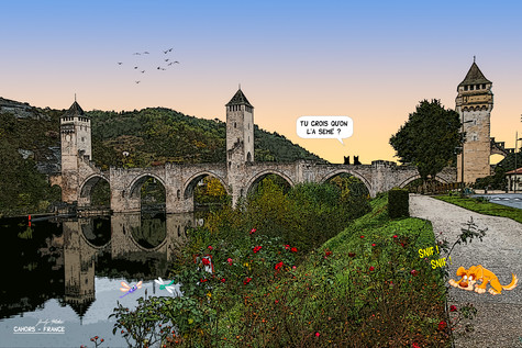 Cahors - France