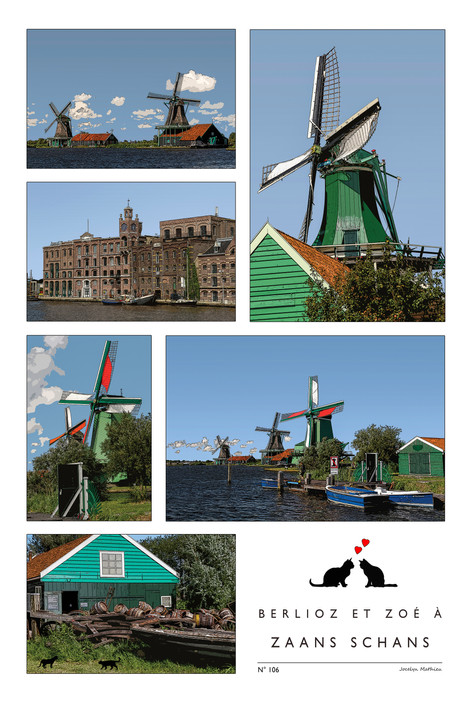 Pays-Bas - Zaans Schans