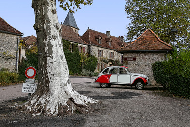 France - Loubressac
