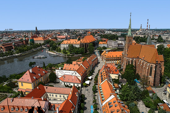 Pologne - Wroclaw