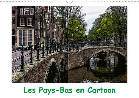Calendrier Pays-Bas Jocelyn Mathieu Photographie Cartoon