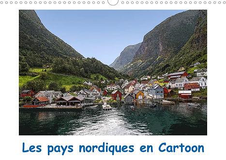 Calendrier Pays Nordiques Fjords Norvège Danemark Suède Finlande Jocelyn Mathieu Photographie Cartoon