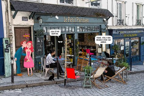 Café, Paris - France