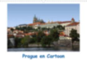 Calendrier Prague République Tchèque Jocelyn Mathieu Photographie Cartoon