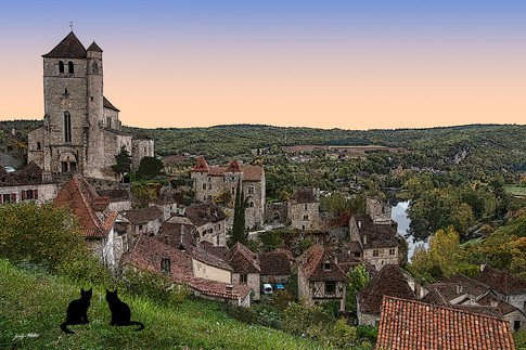 France - Saint-Cirq-Lapopie