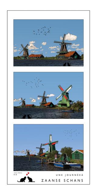 Pays-Bas - Zaanse Schans