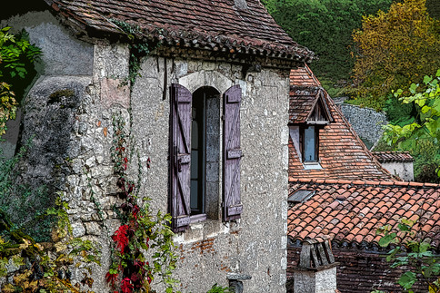 France - Saint-Cirq-Lapopie