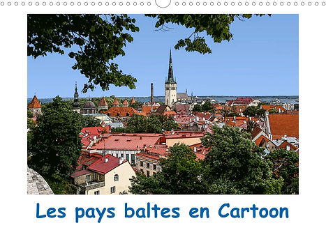 Calendrier Pays Baltes Lituanie Lettonie Estonie Jocelyn Mathieu Photographie Cartoon