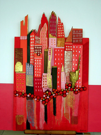 Jacqueline Gaillot-Mangin - Ville rouge