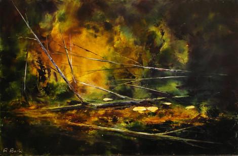 René Barle - Les feux de l'automne